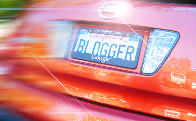 Mr Bling Bling Blogger Plates