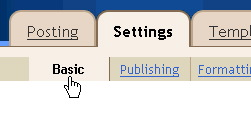 Settings | Basics